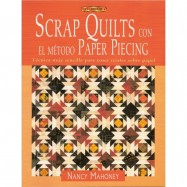 SCRAP QUILTS CON EL MÉTODO PAPER PIECING