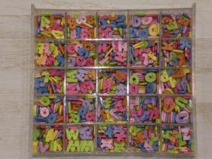 Botones de letras
