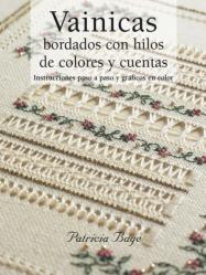 VAINICAS BORDADOS CON HILOS DE COLORES Y CUENTAS