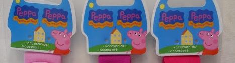 PEPPA PIG PARA EL PELO