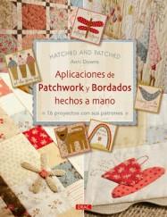 APLICACIONES DE PATCHWORK Y BORDADOS HECHOS A MANO
