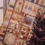 del libro aplicaciones de patchwork y bordados de navidad