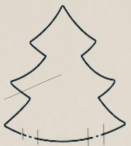 patrón árbol Hilar Fino