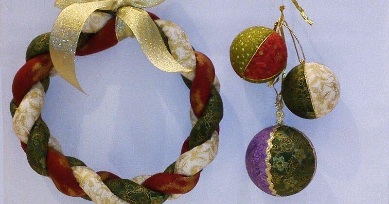 Bolas , bolsas y otras ideas fáciles para tu decoración navideña
