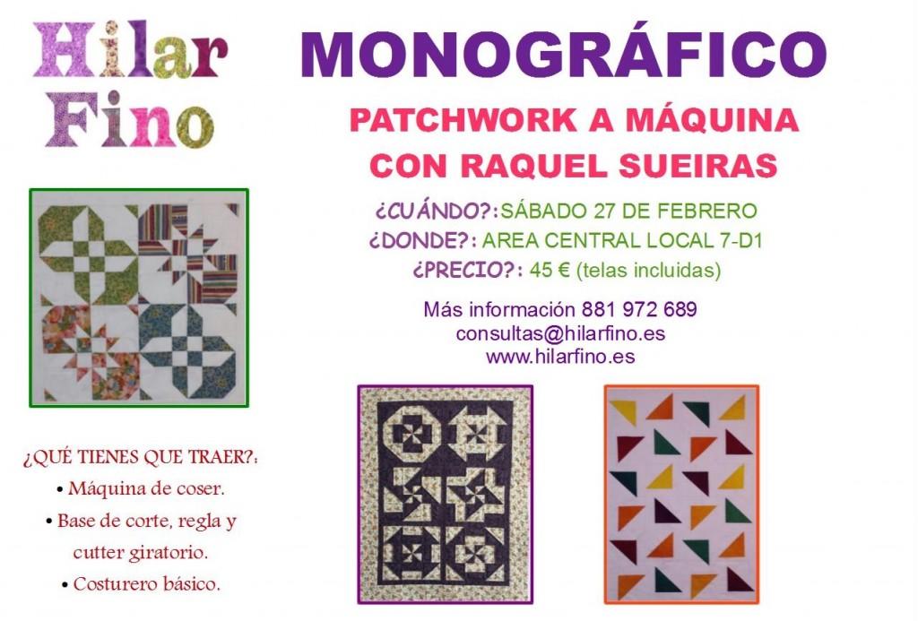 monografico patchwork Hilar Fino Santiago de Compostela