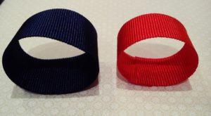 Une los dos extremos de la cinta hasta formar una circunferencia.