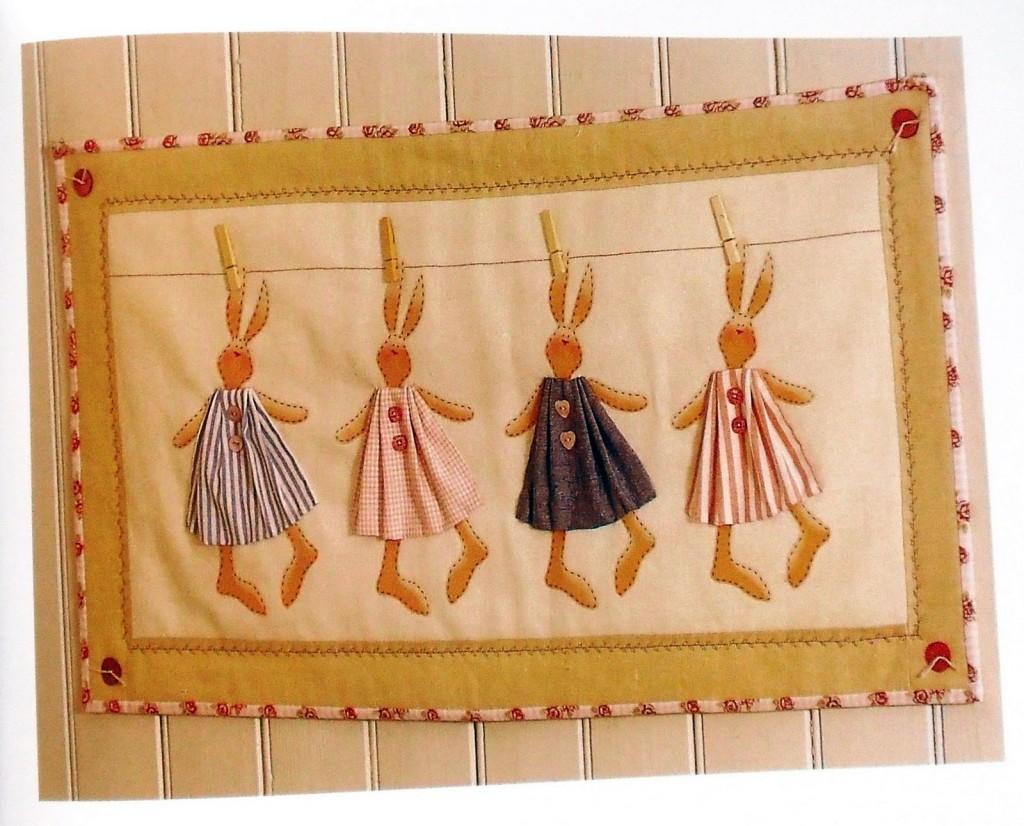 tapiz conejos del libro tilda