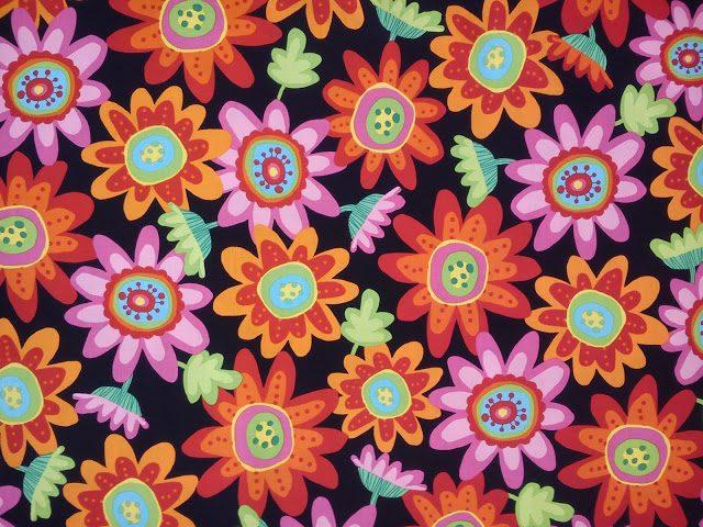 Estampados flores tela Hilar Fino