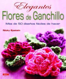 flores de ganchillo hila fino libro