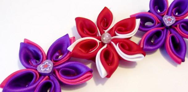flor decorativa hilar fino tela