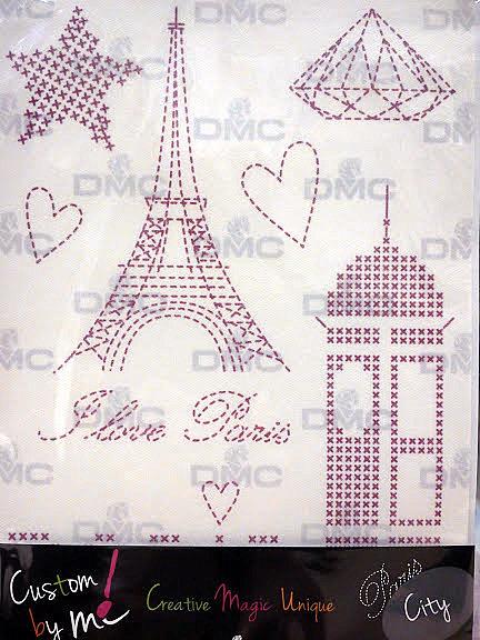 """HOJAS MAGICAS """"CUSTOM BY ME"""" PARIS-2"""