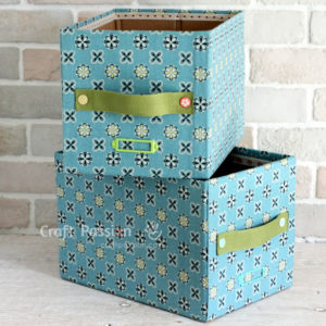 diy-fabric-storage-box