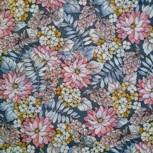 Tela flores Robert Kaufman